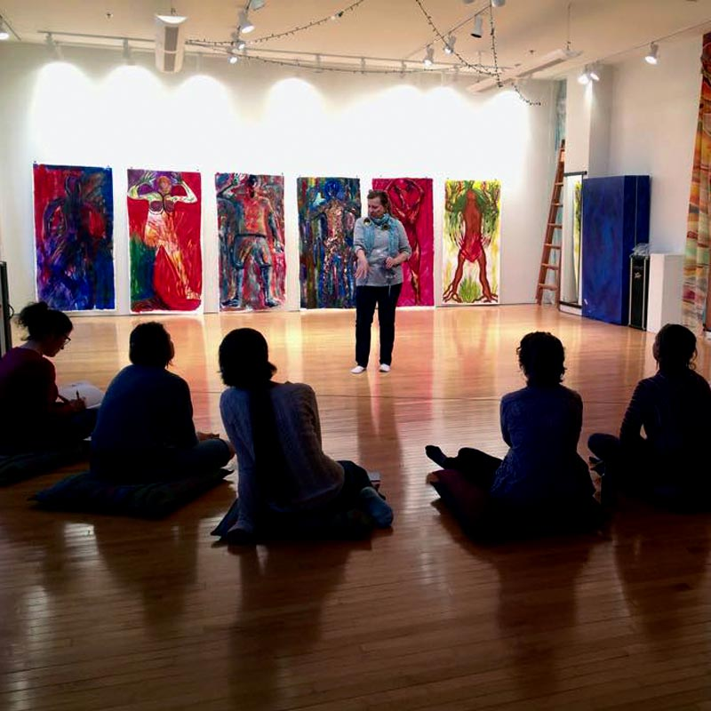 expressive arts therapy workshop