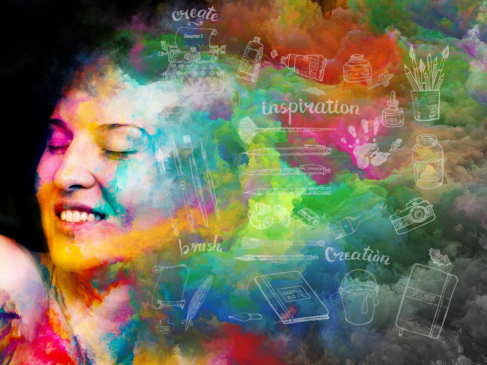 expressive arts therapy intro course