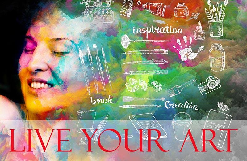 expressive arts intro course